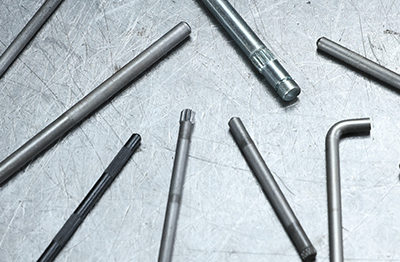 Knurled Pins and Chamfered Rods